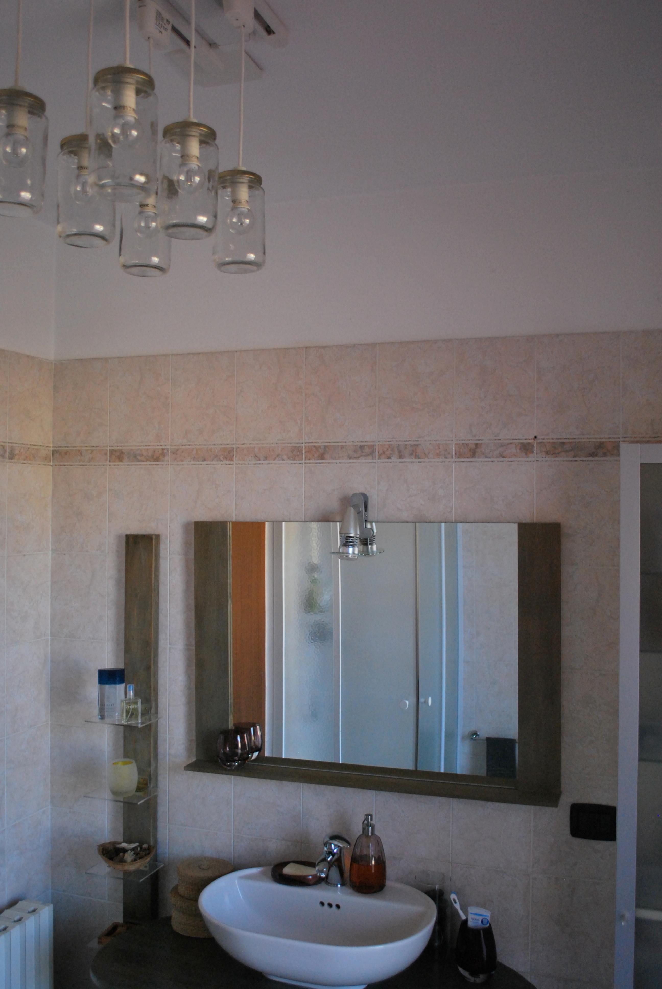 Il lampadario del bagno recreathing - Lampadario bagno ...