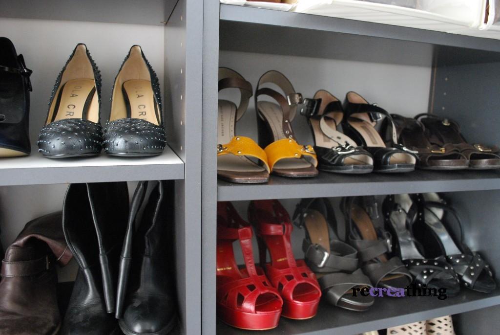 Nuovo angolo scarpe con le billy recreathing - Scatole scarpe ikea ...