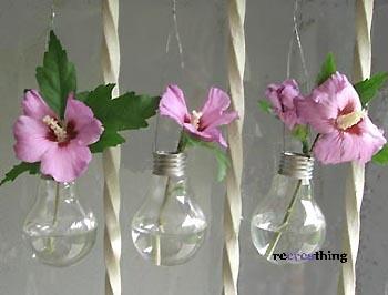 riciclare le lampadine ad incandescenza